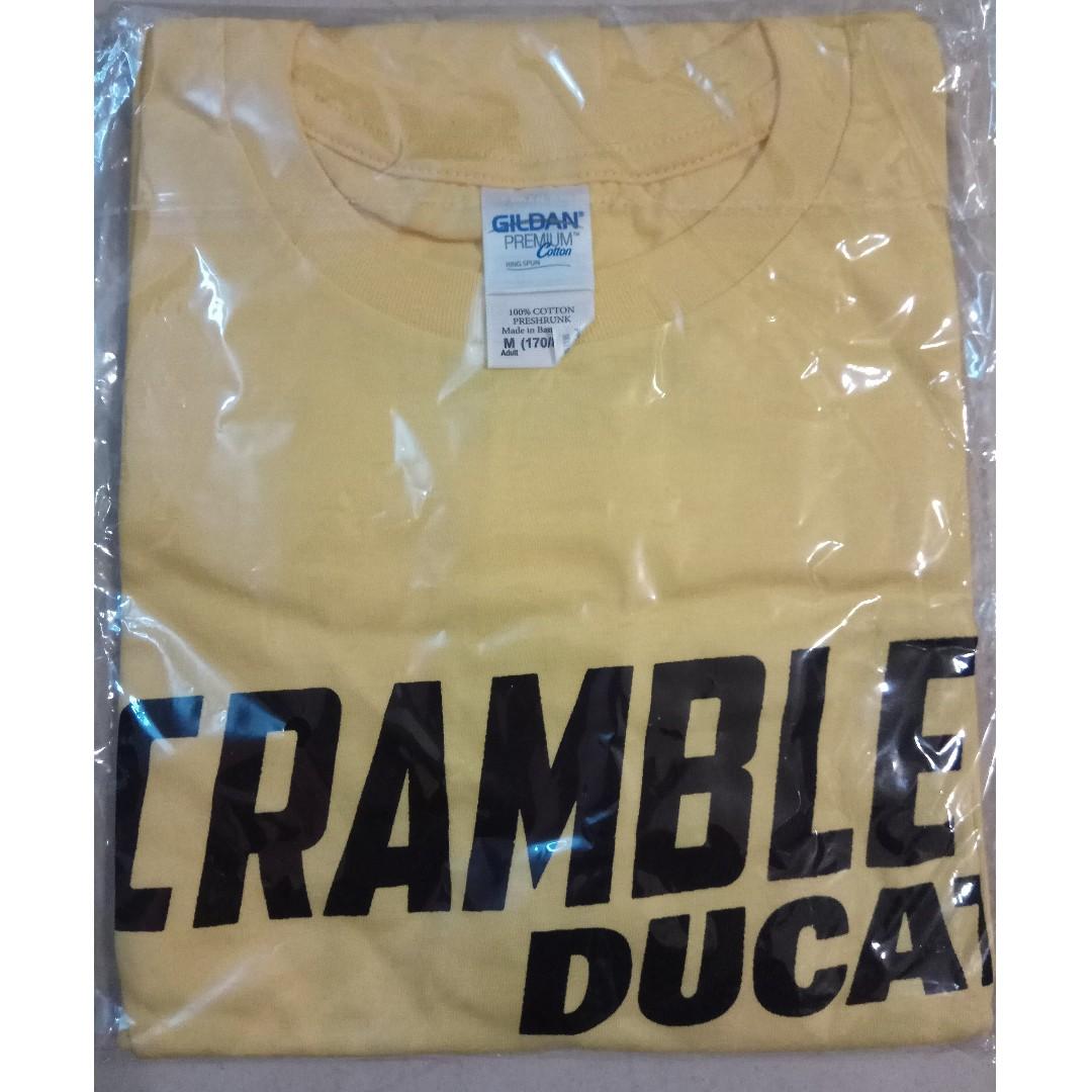 Ducati Scrambler Yellow T-Shirt