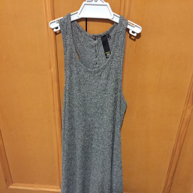 Factorie Dress Grey Size Xxs