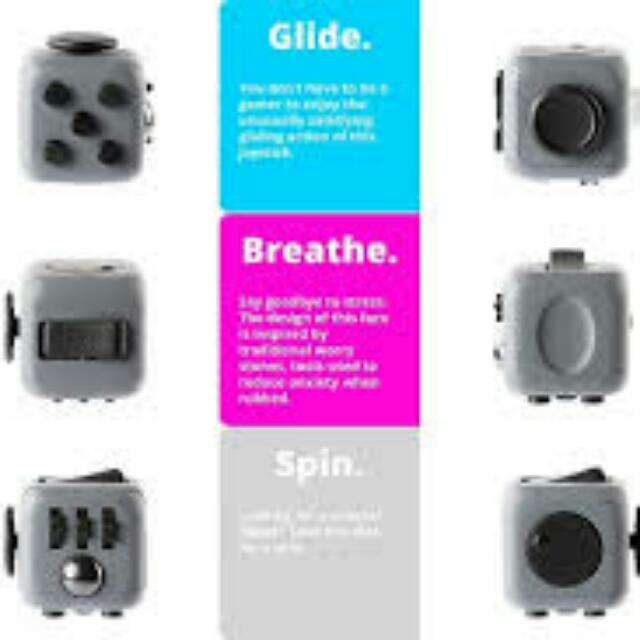 Fidget Cube And Fidget Spiner