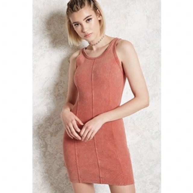 Forever 21 Ribbed Body Con