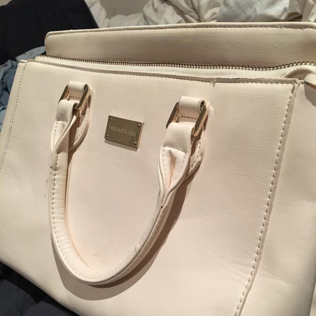 Forever New Cream/light Beige Handbag