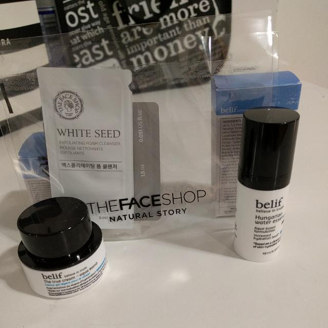 *Free With Purchase* BNIB The Faceshop Samples