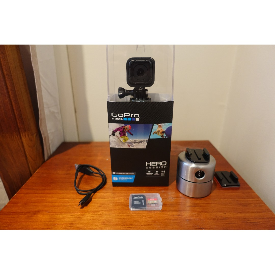 GoPro HERO Session WITH FREE SanDisk Extreme microSDHC 32GB Class10 UHS-3