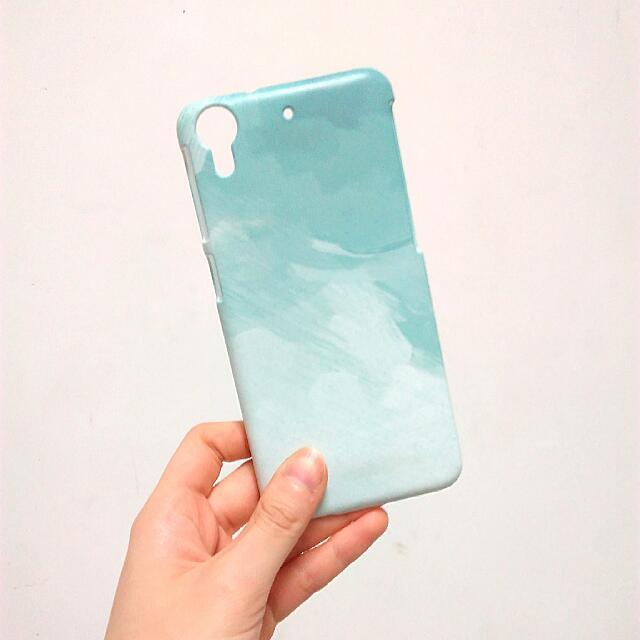 【二手】HTC Desire 626 628 / tiffany綠筆刷 手機殼