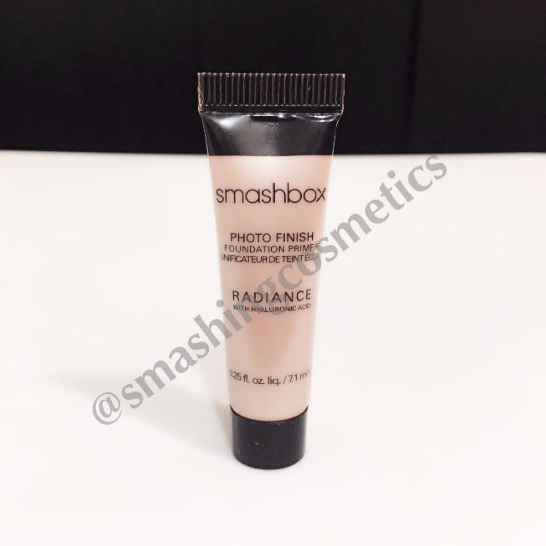 Instock Smashbox Photo Finish Primer Radiance Deluxe Sample Health