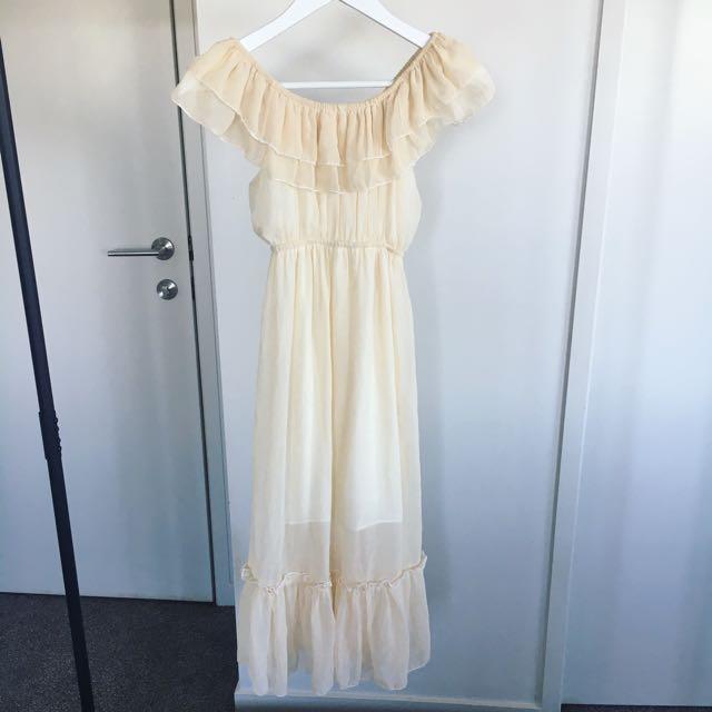 Ivory Long Dress