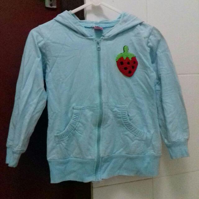 Jaket Hoodie Strawberry