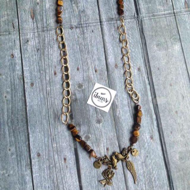 (NEW - SALE) KALUNG VINTAGE - Tigereye stones