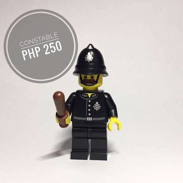 Lego Minifigure Constable