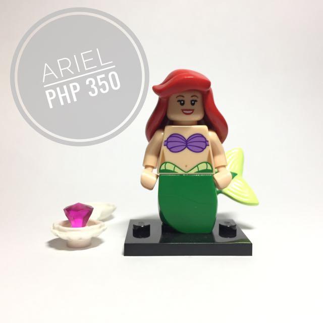 Lego Minifigure Disney Ariel