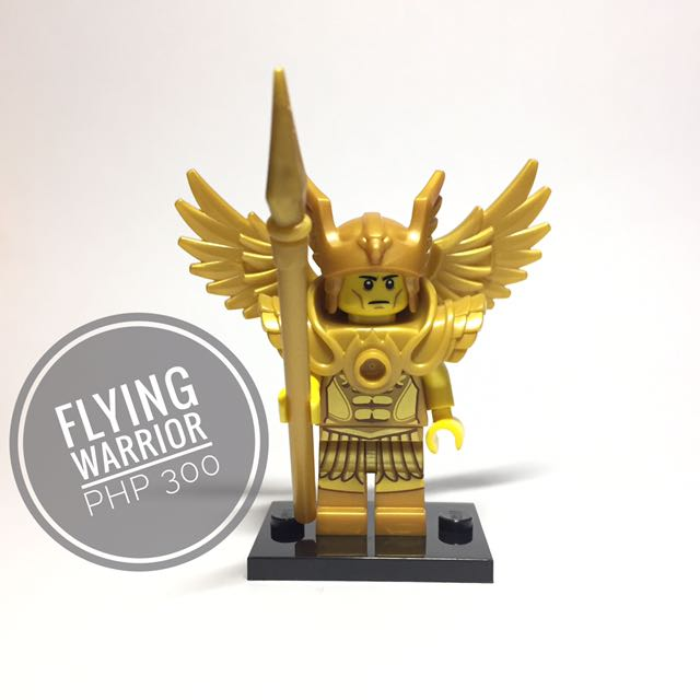 Lego Minifigure Flying Warrior