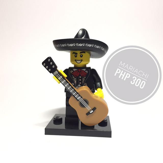 Lego Minifigure Mariachi
