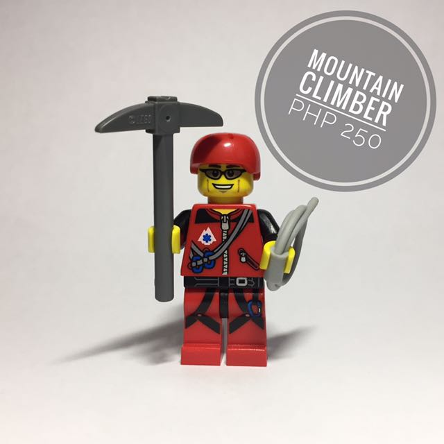 Lego Minifigure Mountain Climber