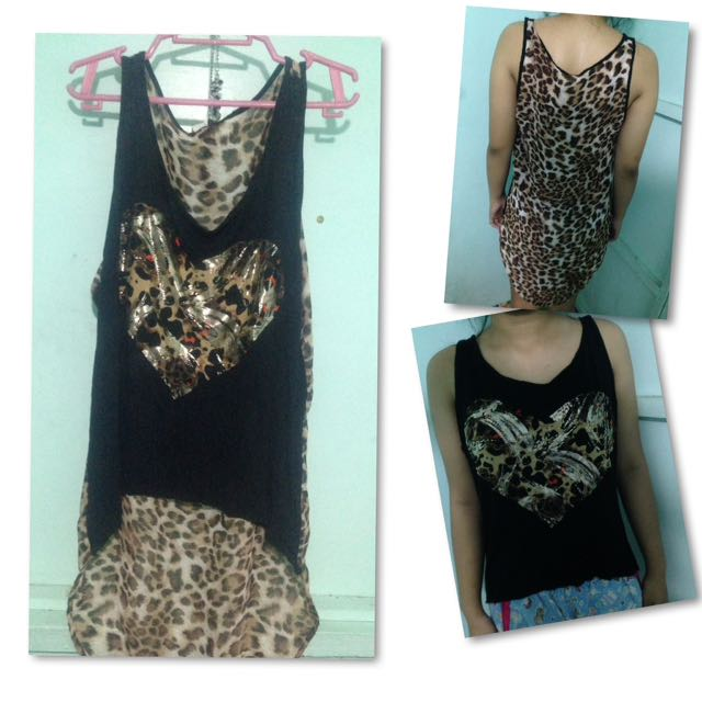 Leopard Print Sleeveless