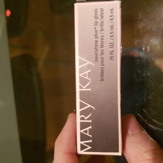 mary kay pink luster lipgloss