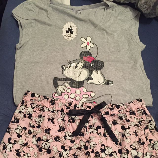 Minnie Mouse Summer Pj Set Size 16