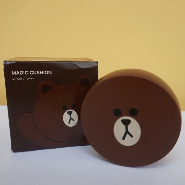 Missha × LINE Friends M Magic Cushion Brown #23