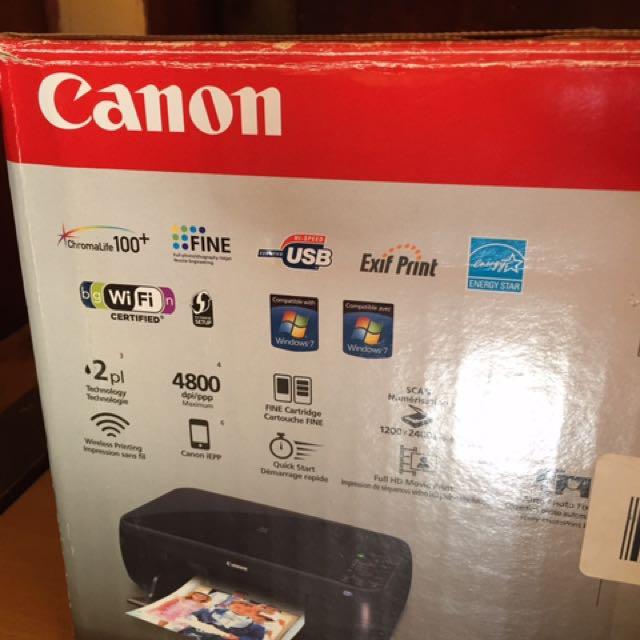 New Canon Pixma MP495 Printer