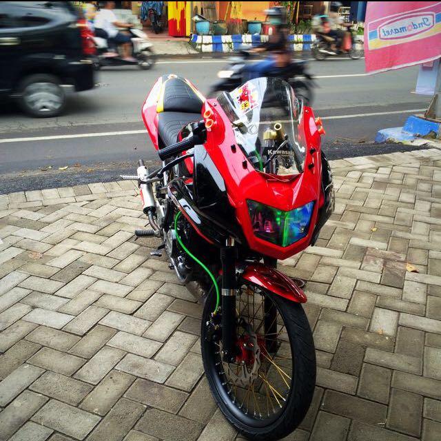 Ninja Rr 150 Modifikasi Racing Dope Motor Di Carousell