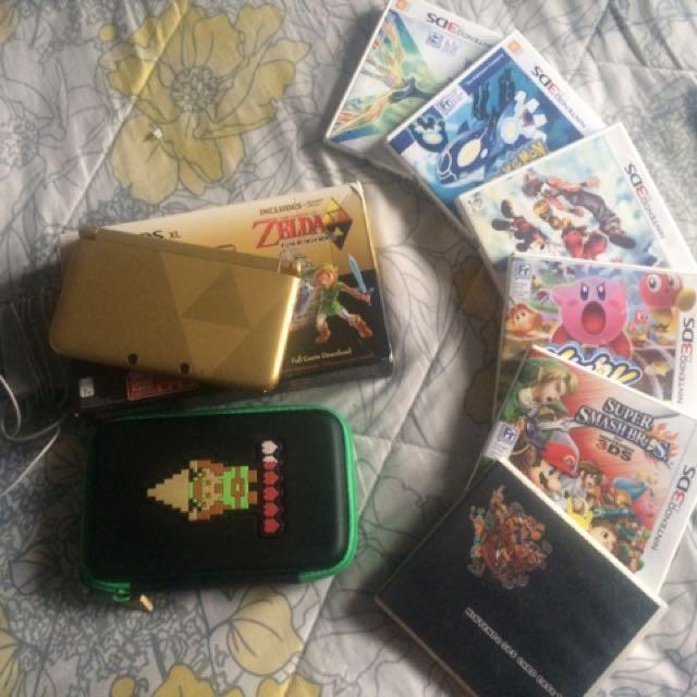 Nitendo 3DSXL Package