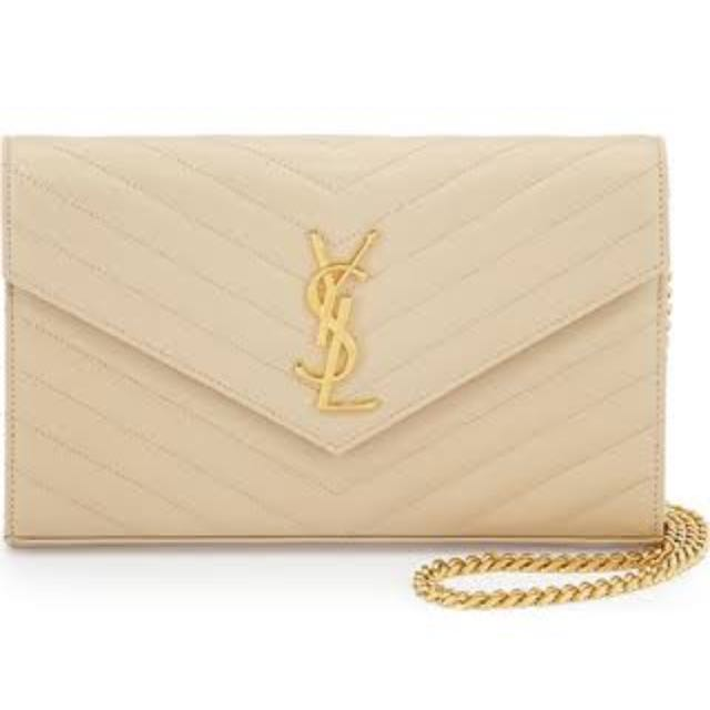 Nude Ysl / Yves Saint Laurent Bag Clutch