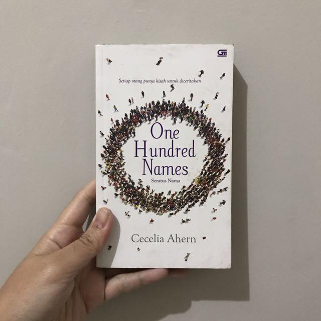 One Hundred Names (Seratus Nama) by Cecelia Ahern