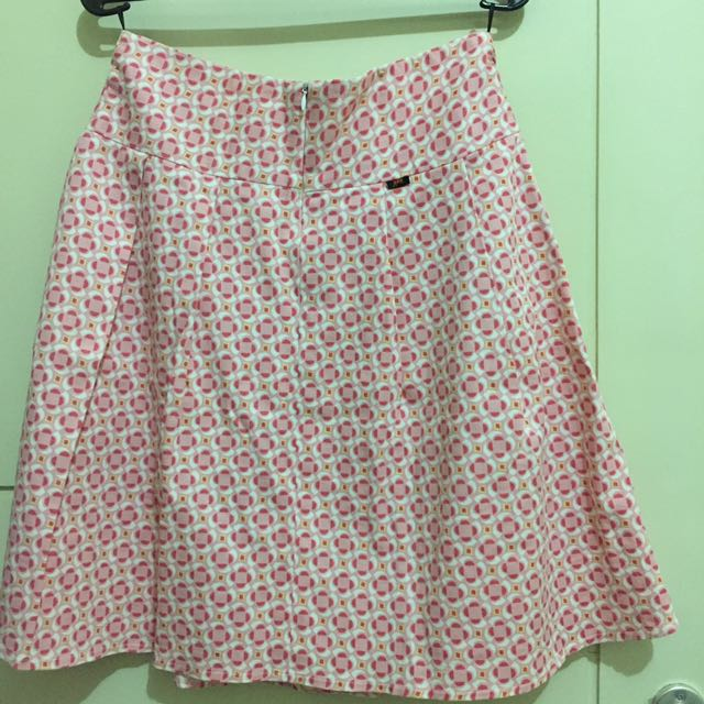 Original Arizona Skirt Flower Pattern Pink Size S M