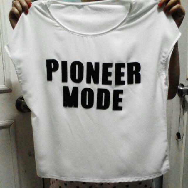 Pioneer Mode White Blouse
