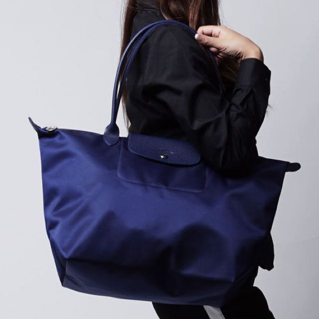 💝SALE LONGCHAMP LE PLIAGE NEO LARGE TOTE 1899578 (NAVY), Women s Fashion,  Bags   Wallets on Carousell 3974c92fd4
