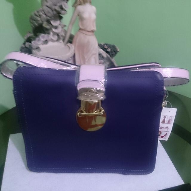 Shoulder/Buddy Bag Purple