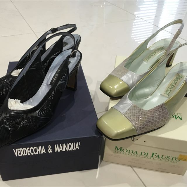 Size 39 Italian Shoes