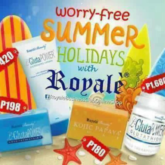 Summer Essentials ( Soap, Lotions, Glutathione)