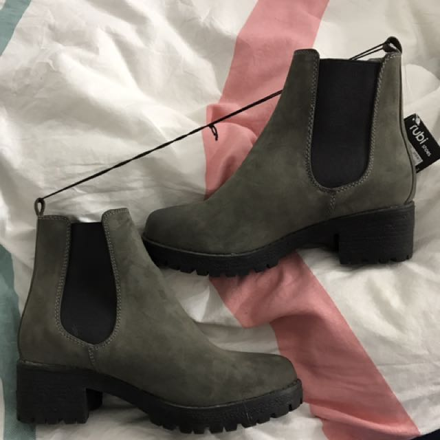 Taupe Boots