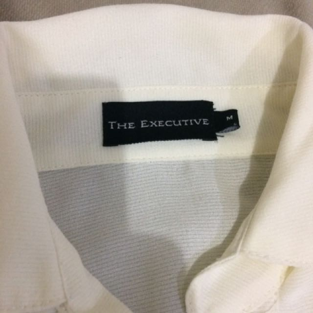 The Executive White Blouse Size M / Kemeja Putih
