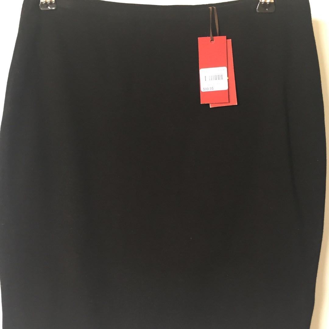 Tigerlilly Ozella Mini Skirt Black Siz 10
