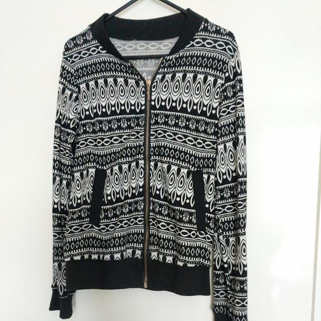 Tribal Print Cardigan/Jacket