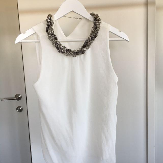 Unique White Top