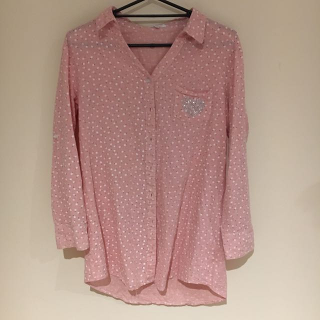 Valleygirl Pink Patterned Shiry