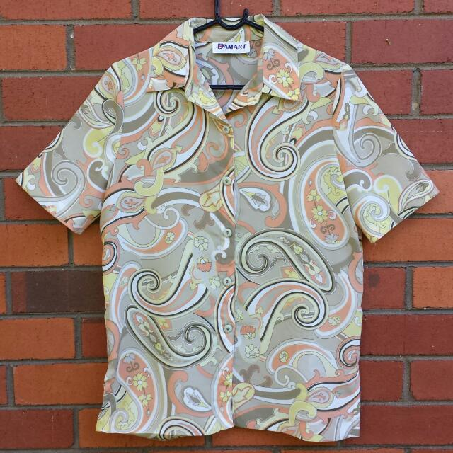 Vintage 70s/80s Paisley Shirt