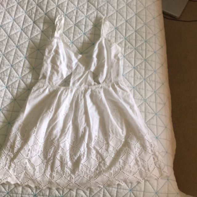 White Dress Medium