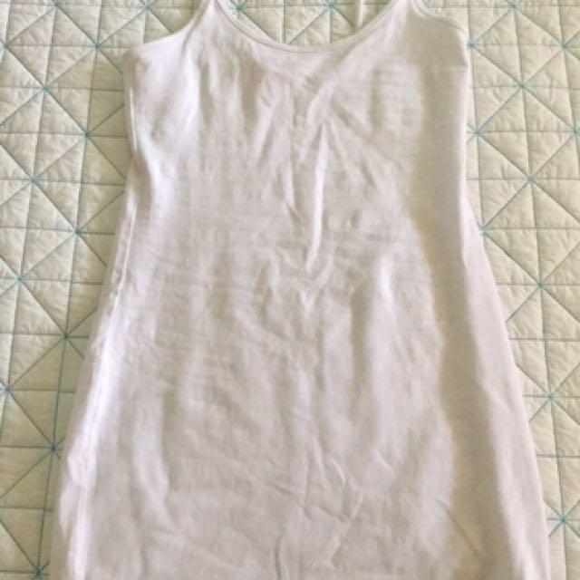 White Supre XS Dress