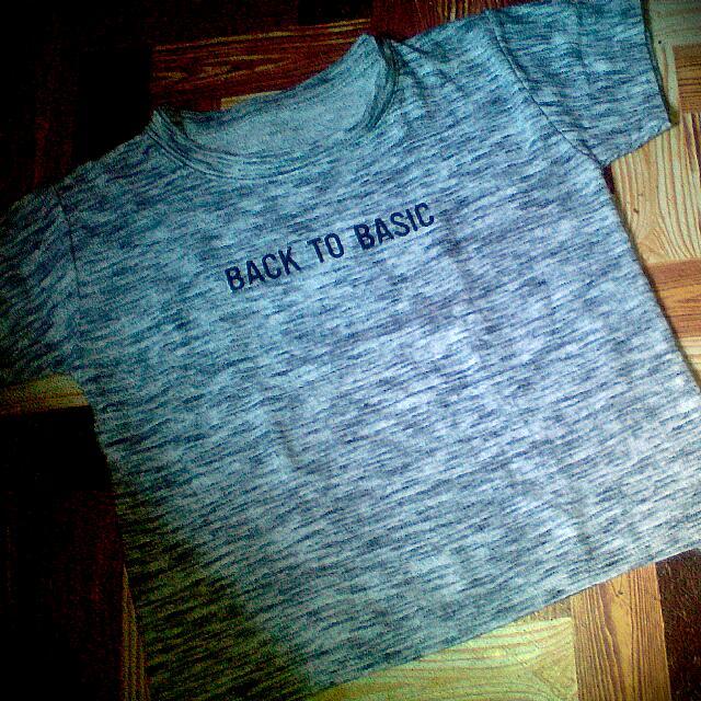 Wow back to basic shirt