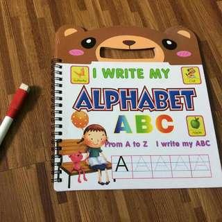 Alphabet Writing Pad