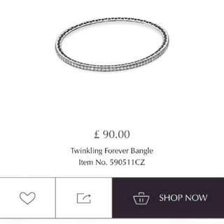 TWINKEL FOREVER BANGLE BNIB