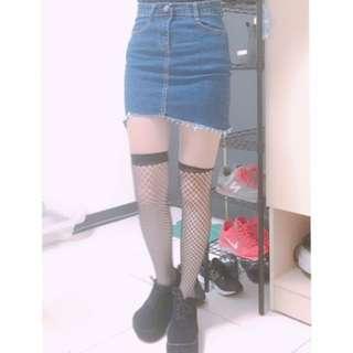 牛仔窄裙😈