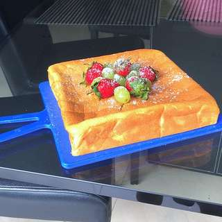 Japanese Soft Cheddar Cheese Cake
