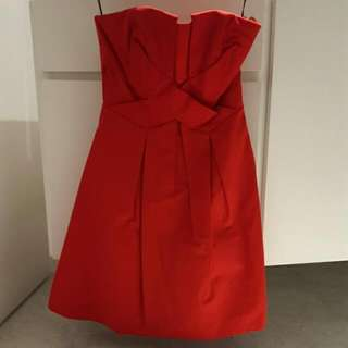 Red Prom Dress By Warehouse