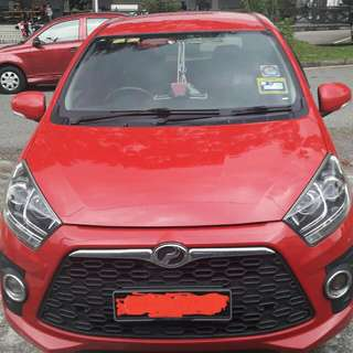 Car Rental (Perodua Axia Advance 1.0 Automatic)