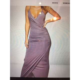 Small Mauve Maxi Dress w. Tags
