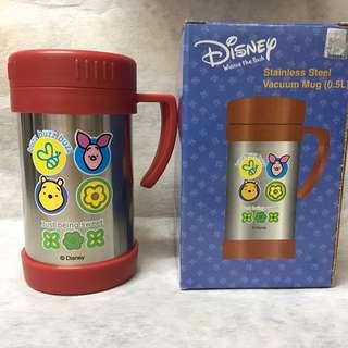 全新 正版 DISNEY 迪士尼 Winnie The Pooh 不銹鋼保溫杯